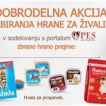 LIDL SLOVENIJA – akcija zbiranja hrane za živali