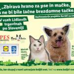 ŽE TRADICIONALNA JESENSKA AKCIJA ZBIRANJA HRANE ZA ŽIVALI – Lidl Slovenija in Pes moj prijatelj